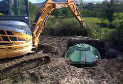 aerotanks sewage treatment system ireland